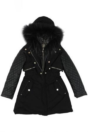 Куртка ELSY. Цвет: черный