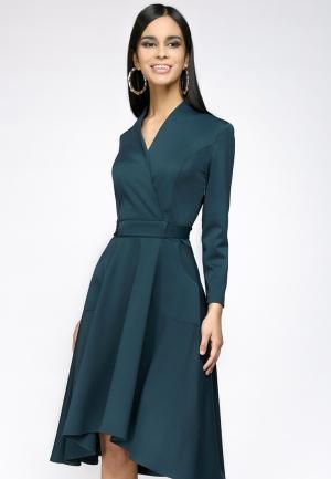 Платье D&M by 1001 dress. Цвет: бирюзовый