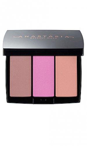 Набор румян blush trio Anastasia Beverly Hills. Цвет: beauty: multi