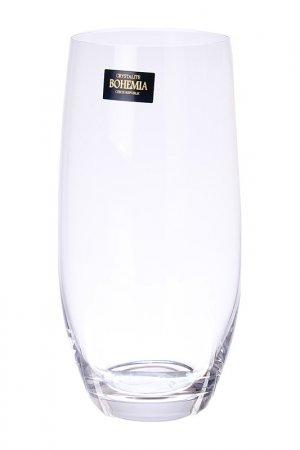 Набор стаканов, 470 мл, 6 шт Crystalite Bohemia. Цвет: прозрачный
