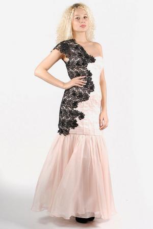 Платье Aftershock. Цвет: powder pink