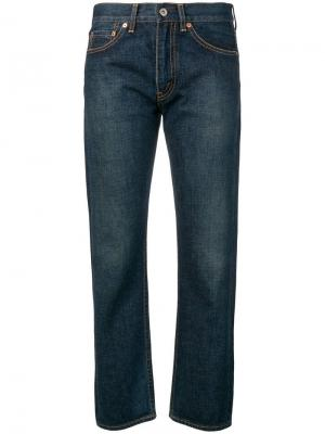 Укороченные джинсы-герлфренд Junya Watanabe