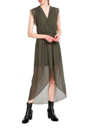 Платье Fornarina. Цвет: зеленый