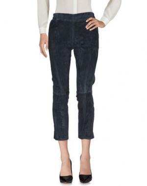 Повседневные брюки ENES. Цвет: грифельно-синий