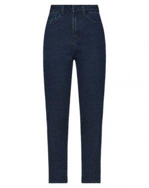 Джинсовые брюки LAZY OAF. Цвет: синий