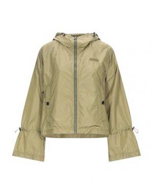 Куртка DUVETICA. Цвет: зеленый-милитари