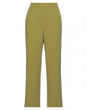 Повседневные брюки B.YU. Цвет: кислотно-зеленый