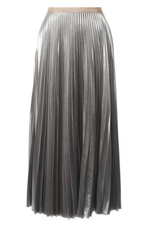 Плиссированная юбка-миди Dries Van Noten