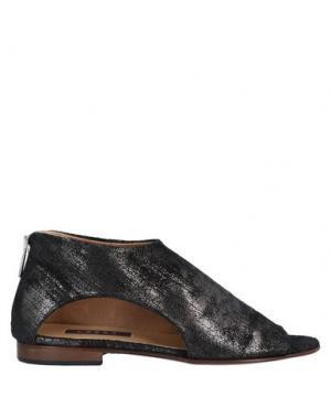 Ботинки LOGAN. Цвет: свинцово-серый