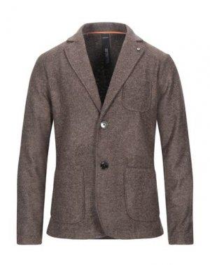 Пиджак DISTRETTO 12. Цвет: светло-коричневый