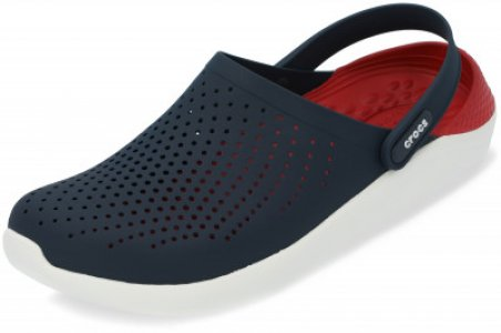 Шлепанцы LiteRide, размер 43-44 Crocs. Цвет: синий