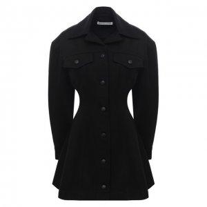 Джинсовое платье alexanderwang.t. Цвет: чёрный