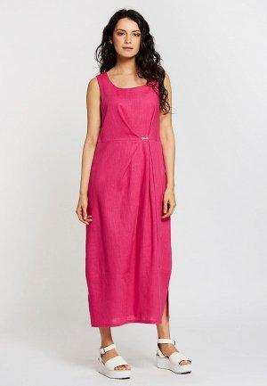 Платье Dimma. Цвет: розовый