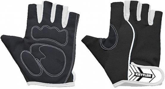 Перчатки для фитнеса Basic, размер M Kettler. Цвет: черный