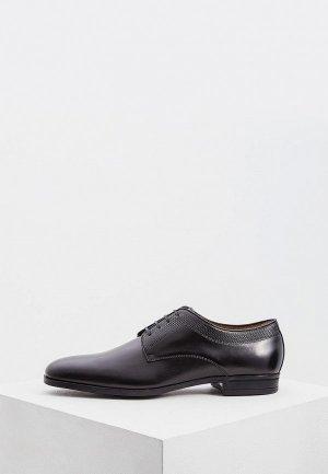 Туфли Boss. Цвет: черный