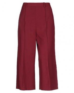 Повседневные брюки FRACOMINA. Цвет: красно-коричневый