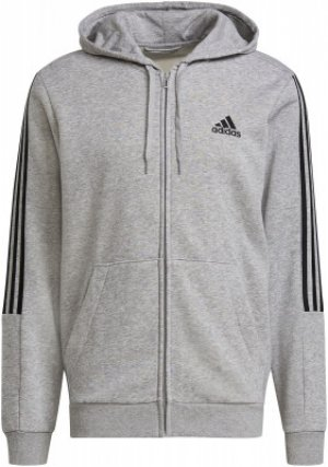 Худи мужская adidas Essentials, размер 52-54. Цвет: серый