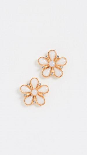 Floral Post Earrings Ben-Amun