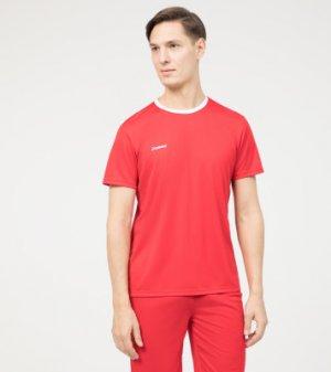 Футболка мужская , размер 48 Demix. Цвет: красный