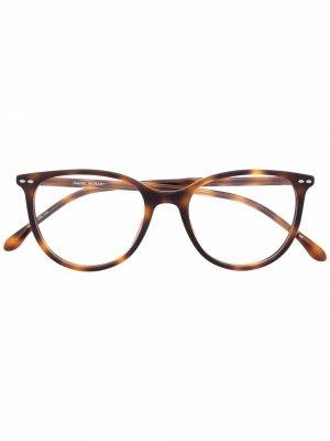Очки в оправе черепаховой расцветки Isabel Marant Eyewear. Цвет: коричневый