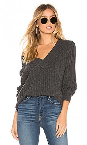 Пуловер upland Tularosa. Цвет: уголь