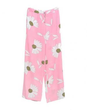 Повседневные брюки LIST. Цвет: розовый