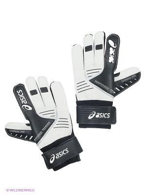 Вратарские перчатки GUANTO KEEP ASICS. Цвет: черный, белый