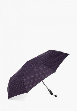 Зонт складной Henry Backer. Цвет: синий
