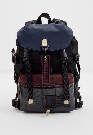 Рюкзак Bally с брелоком. Цвет: разноцветный