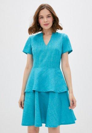 Платье Maurini. Цвет: бирюзовый