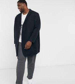 Темно-синее пальто Premium Plus-Темно-синий Jack & Jones