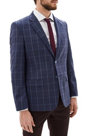 Пиджак La Biali. Цвет: светло-синий