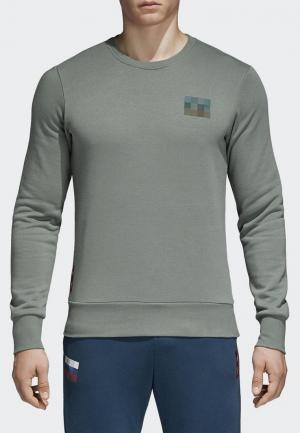 Свитшот adidas RFU SGR CR SW. Цвет: хаки