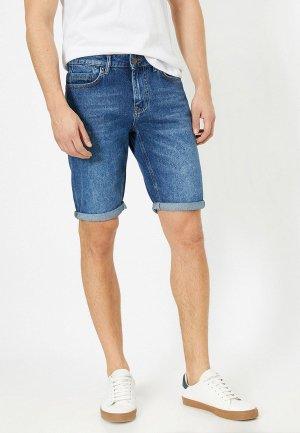 Шорты джинсовые Koton. Цвет: синий