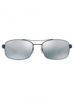 Rectangular sunglasses Ray-Ban. Цвет: черный
