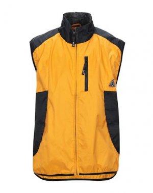 Куртка HUF. Цвет: оранжевый
