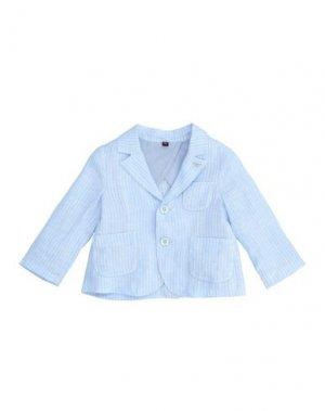 Пиджак ARMANI JUNIOR. Цвет: небесно-голубой