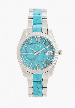 Часы Fossil ES5077. Цвет: бирюзовый