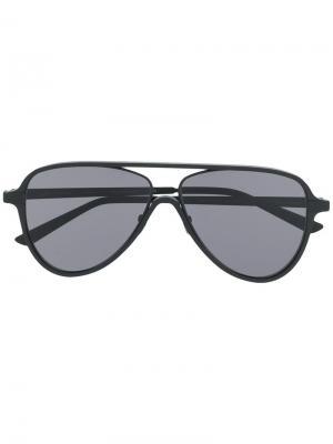Солнцезащитные очки Ayrton Laps Collection Italia Independent. Цвет: черный