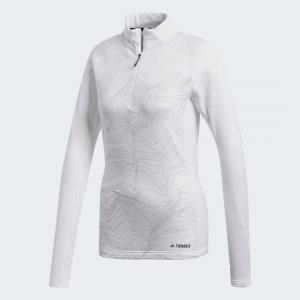 Лонгслив Icesky TERREX adidas. Цвет: белый