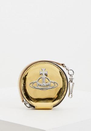 Кошелек Vivienne Westwood. Цвет: золотой