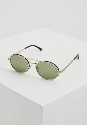 Очки солнцезащитные Jimmy Choo JEFF/S RHL. Цвет: золотой