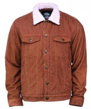 Куртка Naruna Dickies. Цвет: коричневый