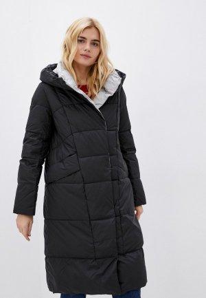 Куртка утепленная Снежная Королева. Цвет: черный