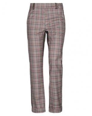 Повседневные брюки ANDREA TURCHI. Цвет: серый