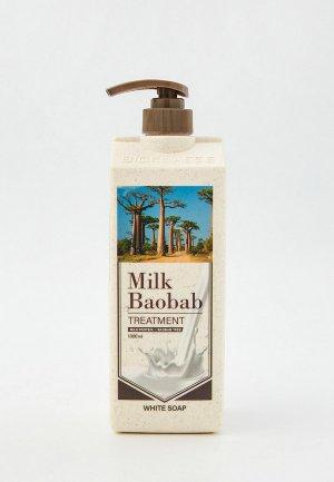 Бальзам для волос Milk Baobab ORIGINAL, 1000 мл. Цвет: белый