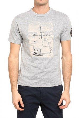 T-Shirt Armata di Mare. Цвет: gray