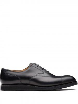 Churchs Lancaster lace-up Oxford shoes Church's. Цвет: черный