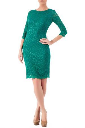 Платье Ludmila Labkova. Цвет: зеленый
