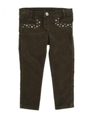 Повседневные брюки BRUMS. Цвет: зеленый-милитари